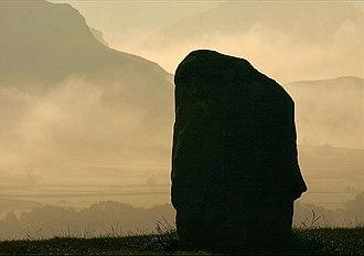 Civil parishes in Cumbria - Image: Castlerigg Stone Circle geograph.org.uk 1514388