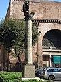 Castro Pretorio - Colonna di Parigi alle Terme di Diocleziano 1010023.JPG