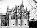 Cathédrale Notre-Dame - Sacristie, façade ouest - Paris 04 - Médiathèque de l'architecture et du patrimoine - APMH00014116.jpg