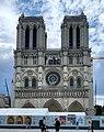 Cathédrale Notre-Dame façade ouest Paris 1.jpg