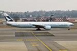 Cathay Pacific, B-KPO, Boeing 777-367 ER (24661732892).jpg