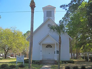 National Register of Historic Places listings in Gulf County, Florida - Image: Cathchurchportstjoe