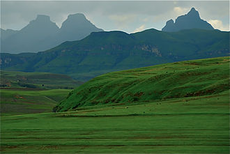 Drakensberg - Cathedral Valley