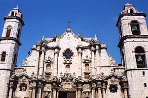 Havana Cathedral - Cathedral of Havana San Cristobal