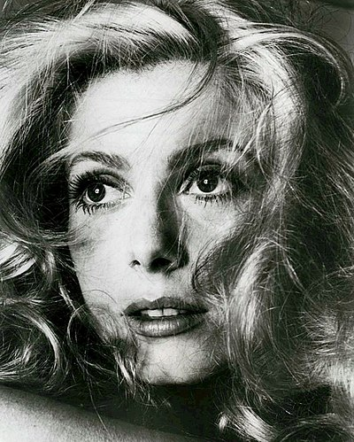 Catherine Deneuve, French actress
