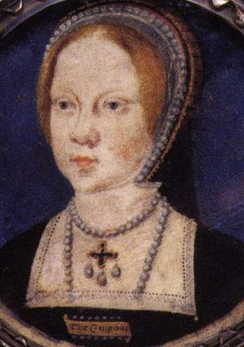 Mary Tudor daughter of Kind Henry VIII. of Eng...