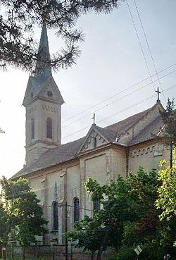 Catholic church in Žabalj, Vojvodina, Serbia 3.jpg