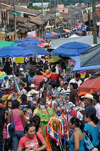 Celebracion en Xico