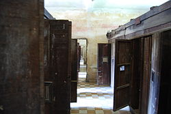 Cell doors, Security Prison 21 (S-21), Tuol Sleng Genocide Museum, Phnom Penh, Cambodia.jpg