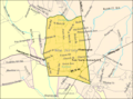 Census Bureau map of Flemington, New Jersey.png