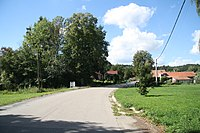 Center of Hořetice, Křečovice, Benešov District.JPG