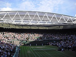 Het Centre Court in 2009