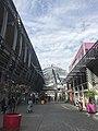 Centre commercial du Carré de Soie - vue en avril 2018.JPG