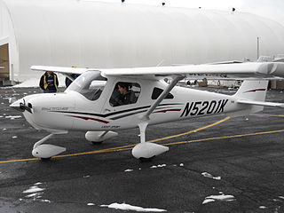 Cessna 162 Skycatcher American side-by-side two-seat light sport airplane