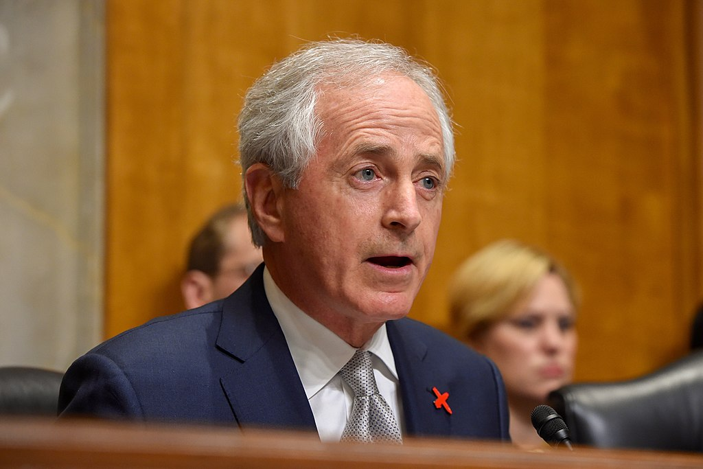 Chairman Corker Delivers Opening Statement to Secretary Kerry Amid Testimony Before Senate Foreign Relations Committee About Obama Administration's 2017 Budget (25216383075)