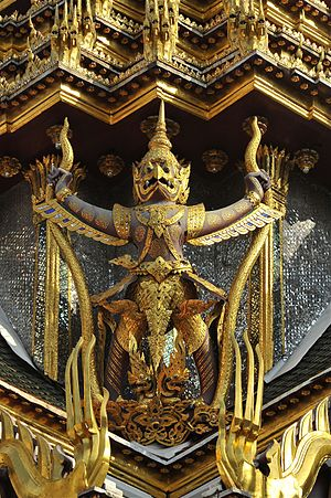 Garuda - Garuda at Chakri Maha Prasat Hall, Thailand