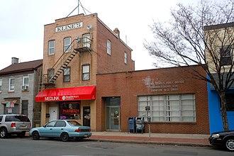 Chambersburg, Trenton, New Jersey - Chambersburg Station post office on Broad Street