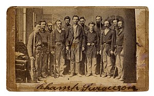9th Michigan Volunteer Infantry Regiment - Image: Champ Ferguson Captured
