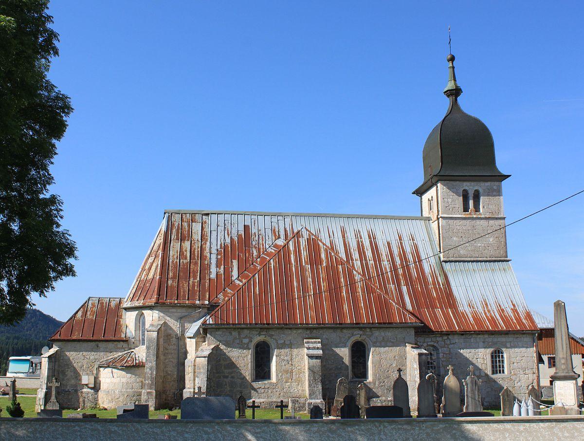 Glise saint jean baptiste de chapelle des bois wikip dia - Chambre d hote chapelle des bois ...