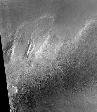 Argyre quadrangle - Image: Charitum Montes Gullies