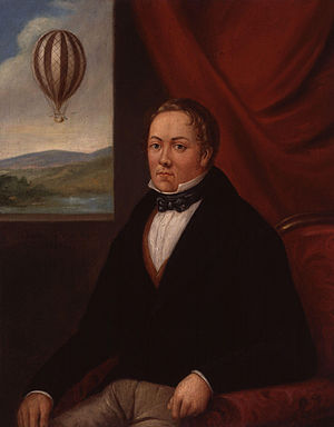 Charles Green (balloonist) - Portrait of Charles Green by Hilaire Ledru, 1835