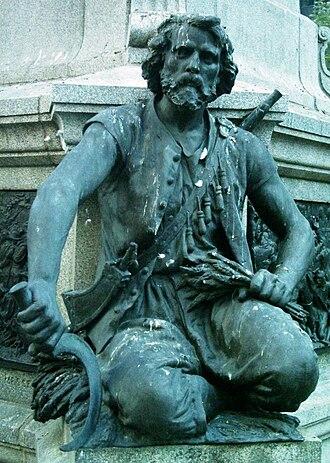 Maisonneuve Monument - Charles Le Moyne