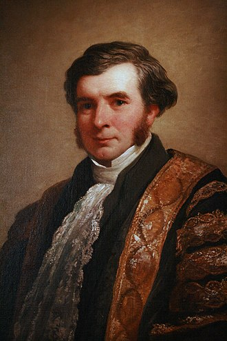 Charles Nicholson - Sir Charles Nicholson as Chancellor of the University of Sydney, c. 1850.