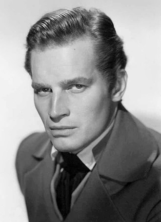 Charlton Heston - Heston as President Andrew Jackson in The President's Lady, 1953
