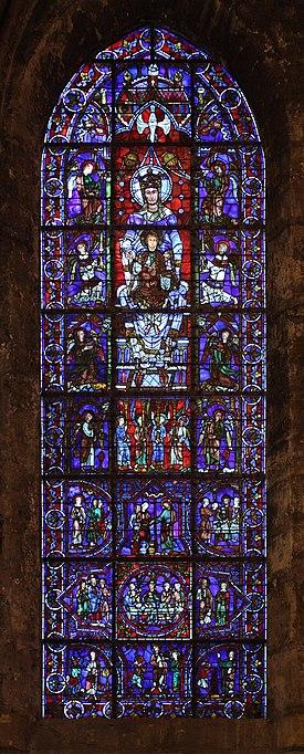 File:Chartres - cathédrale - ND de la belle verrière.JPG
