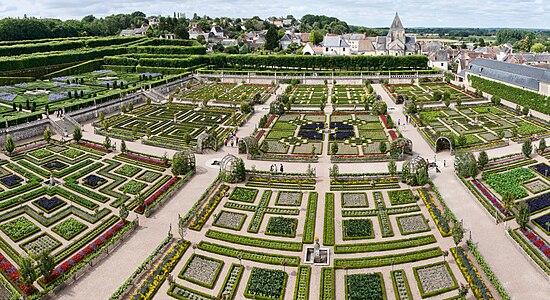 Ch teau de villandry wikip dia for Jardin a la francaise chambord