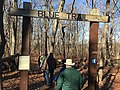 Cheesequake State Park entrance to Blue Trail.jpg
