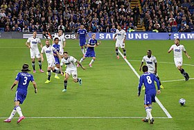 Chelsea 2 Bolton Wanderers 1 Chelsea progress to the next round of the Capital One cup (15165258288).jpg