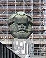 Chemnitz-23.Karl Marx (Nischel) 1.August.2014.jpg