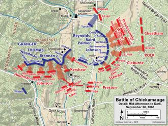 Battle of Chickamauga Wikipedia