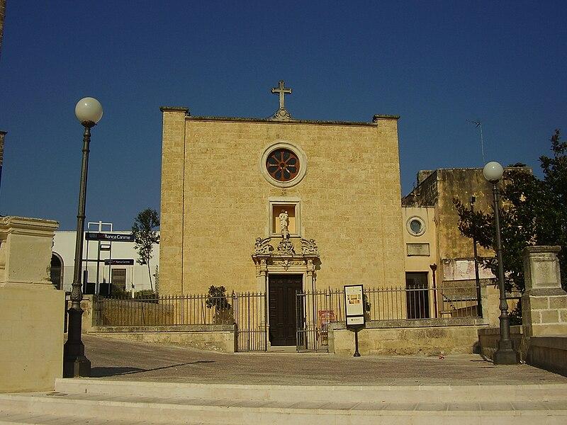 File:Chiesa del Carmine Ruffano.jpg