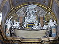 Chiesa del Sudario - stucchi altar maggiore (Raggi) P1050097.JPG