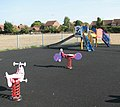 Children's playground at Thurlton playing field - geograph.org.uk - 1510941.jpg