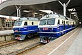 China Railways DF11 0377 and 0428 Wuchang 20110725.jpg