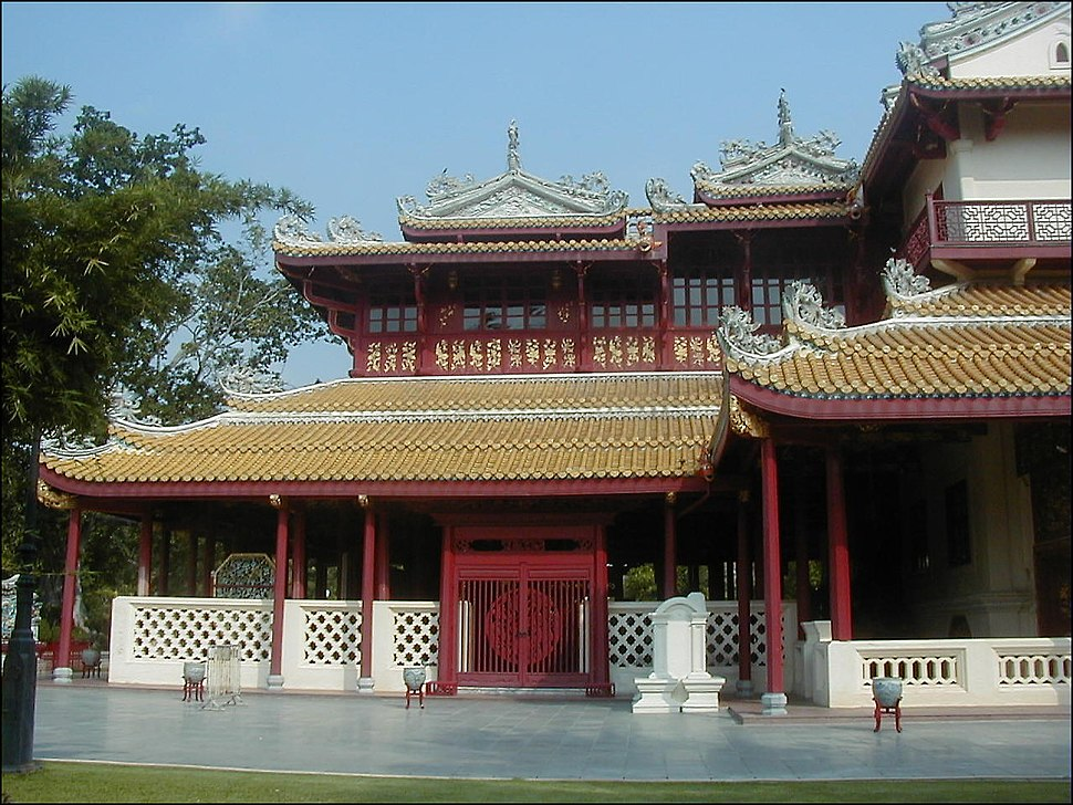 Chinese-roof