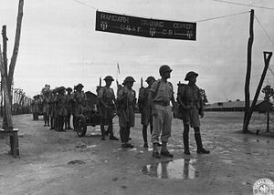 Ramgarh Cantonment - Chinese troops at Ramgarh Training Center June 1944.