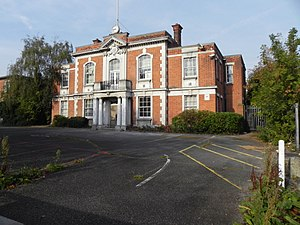 Municipal Borough of Chingford - Image: Chingford Old Town Hall Building, The Ridgeway, Chingford, London, UK