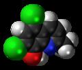 Chlorquinaldol 3D spacefill.png