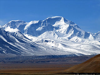 Tenzing Peak Mountain peak in the Himalayas
