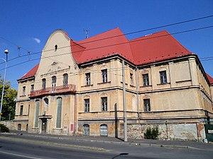 Chomutov - Old poorhouse building