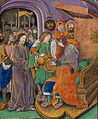 Christ before Pilate, with Pilate washing his hands (f. 70) Cropped.jpg