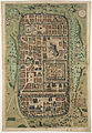 Christian Kruik van Adrichem. Ierusalem, et suburbia eius. 1584.jpg