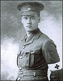 Christopher Nevinson in his Red Cross uniform-1914-1915-unknown photographer.jpg