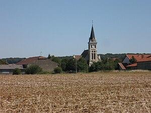 Seicheprey - Image: Church Seicheprey