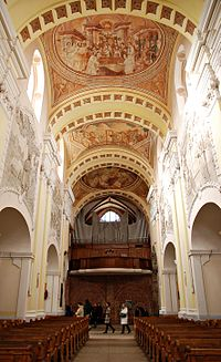 Church in Trzemeszno - interior