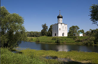 Nerl River (Klyazma) - The Church of the Intercession on the Nerl